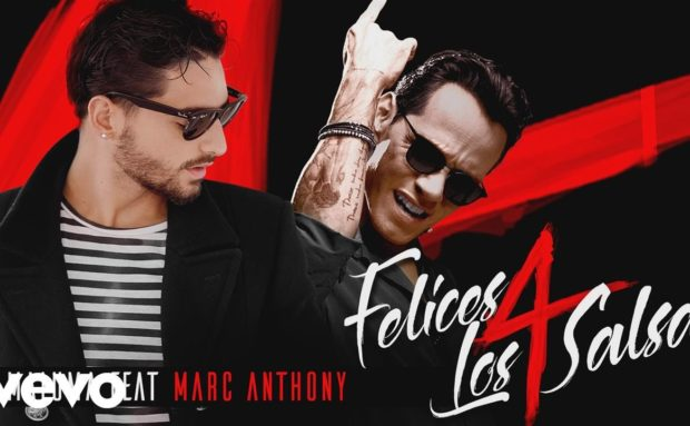 [Video] Maluma – Felices los 4 (Salsa Version) ft. Marc Anthony