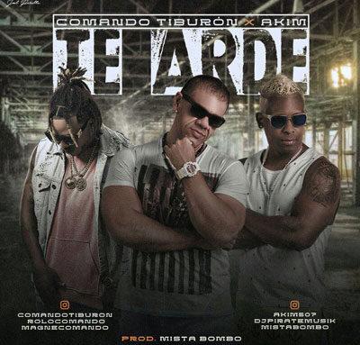 Comando Tiburon ft. Akim – Te Arde